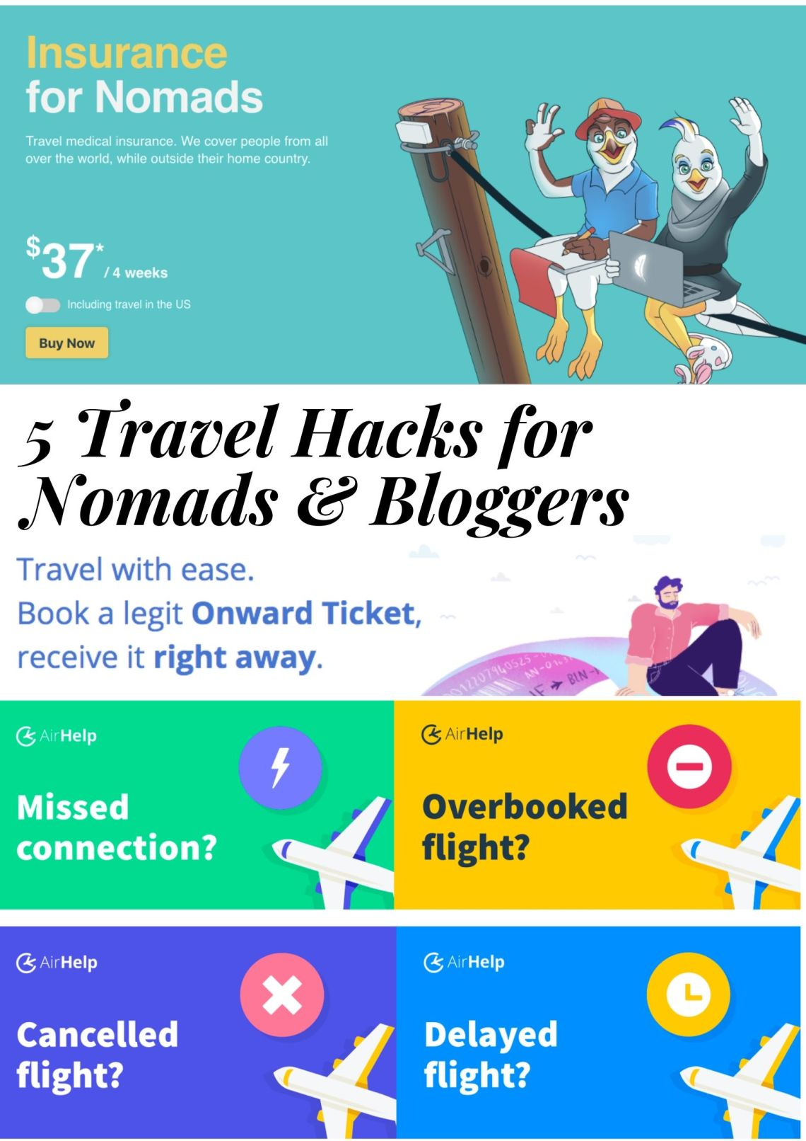 sunset quote poster - 5 Travel Hacks for Surf Nomads